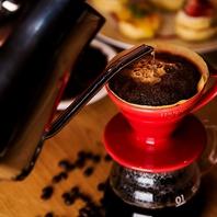 当店自慢のこだわり自家焙煎コーヒー