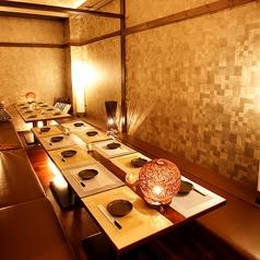 【中人数用個室】 ちょっとした集まりや会合に使いやすい中人数用個室♪いろんなサイズの個室あります!