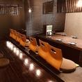 2階の掘りごたつ席。少人数宴会もご対応可能です。[居酒屋/秦野/飲み放題/焼き鳥/女子会]