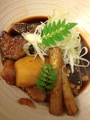 料理メニュー写真本日の煮魚(あら焚き)