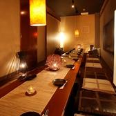 【大人数用個室】 大人数でも使いやすい宴会個室♪完全に壁とドアで囲まれている完全個室なのもウレシイ!