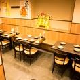 【大宮東口】簡単に席替えできるテーブル席