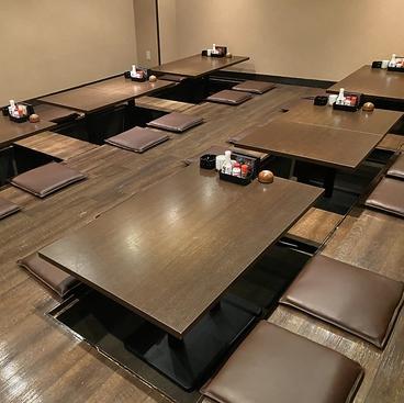 北海炉端&大阪串カツ うまいもん食道 金山店の雰囲気1