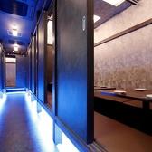 【宴会フロア「離れ」・小宴会個室】 10名台でも使える宴会フロア「離れ」♪足元の青い光が幻想的です★