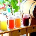 【嬉しいランチドリンクバー★】 ドリンクバー(赤ワイン、白ワイン、シャングリア、コーヒー、アイスティー、マテ茶、ウーロン茶、コン茶、ジャスミン茶、録茶)