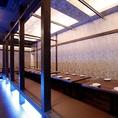 【宴会フロア「離れ」・中宴会個室】 20名台・30名台…、大人数の宴会でもしっかり個室で対応します!
