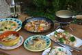 料理メニュー写真バイキング付ディナーセット (好きなパスタorピッツァ+前菜やドリンクなどのバイキング+デザート)