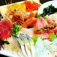 【居酒屋さんのカルパッチョ】鮮魚にこだわる飛八ならではの逸品。その日のおすすめ8種をご用意♪/1800円