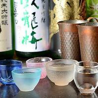 どんなお料理とも相性の良い日本酒を多数ご用意*