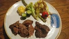 料理メニュー写真鶏肉の白レバー
