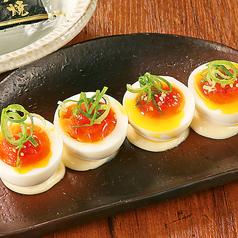 大分桃太郎海苔使用 めんたまー/農場流 塩カプレーゼ/エイヒレの炙り焼