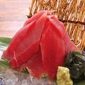 料理メニュー写真生マグロ赤富士盛り