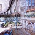 三宮駅すぐ!神戸国際会館11階・屋上ガーデンレストラン!
