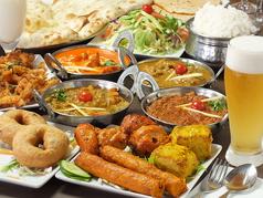 南インド料理 シリバラジ 水道橋店のコース写真