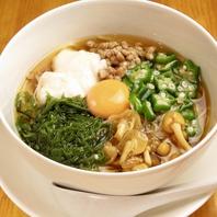 阿波名産の「半田素麺」を〆に。他では味わえません!