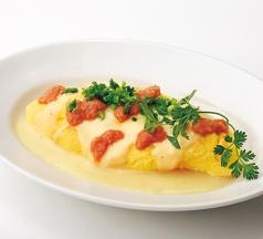 料理メニュー写真明太チーズオムレツ