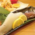 料理メニュー写真長崎県産 ヤリイカ姿造り