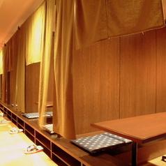 仙台徒歩1分の好立地!のれんがあるので半個室空間。ご宴会やサク飲みにも◎