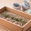 料理メニュー写真北海道産石臼挽き生蕎麦