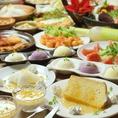 食べ飲み放題コースはデザートも豊富で2480円~とお得!!