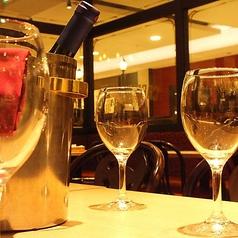 リーズナブルにワインも楽しめる♪