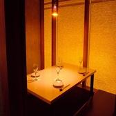 掘り炬燵式完全個室。2名様から6名様までご利用可能です。小規模な食事会や合コンに!