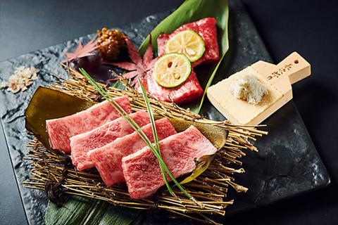 日本が誇る和牛の最高峰「神戸ビーフ」の最高級ランクを使用した和風焼肉店