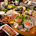 宴会コースは2時間飲み放題付☆浜焼きやお刺身等、ボノボ自慢の品をまとめてお得にお楽しみいただけます!各種宴会コースご用意しているので用途に合わせてお選びください♪