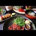 料理メニュー写真なにわ黒牛ステーキ(マルシン)