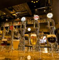 世界中の《約70種類》のビールが一同に集結!!