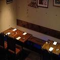 【ビストロスペース】ディナータイムにはお酒やお食事しながら喫煙もお楽しみ頂けます。(店内レイアウト2)