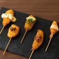 料理メニュー写真海鮮串カツ 盛り合わせ 5本