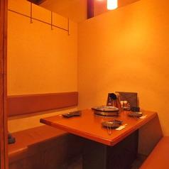 接待やデート、特別な日やご家族に個室を完備。2名様~ご利用いただけます。