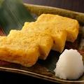 料理メニュー写真【名代】比内地鶏 だし巻き玉子