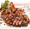料理メニュー写真★☆★ ブラックアンガス牛Tボーンステーキ 香草オイルとバルサミコソース ★☆★