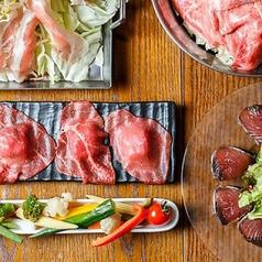大衆和牛酒場 コンロ家 霜降り和牛鍋と神戸牛ホルモン鉄板焼 飯田橋店の特集写真