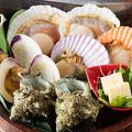 料理メニュー写真貝の盛り合わせ(2人前)