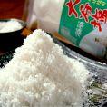 珠洲揚げ浜式塩田の大谷塩を使用しています