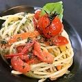 料理メニュー写真ペペロンチーノスパゲッティ