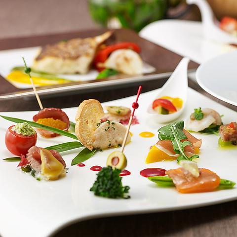 1食で30品目を使用 健康や美を意識したさくらすてきメニュー