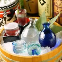 あかね屋では九州の地酒を多数ご用意!
