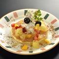 料理メニュー写真パンケーキチョコバナナ/パンケーキアップルシナモン