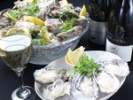 毎週土日は牡蠣食べ放題イベント!詳しくはコース詳細を。