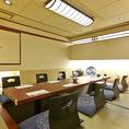2階12名様用掘り座席個室は接待、宴会にはぴったりな個室です。12名様個室2つご用意しております。