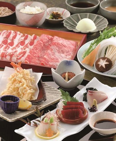 ◆ランチ&ディナー◆松茸土瓶蒸し付・食べ放題コース〈秋桜 Plus〉 6500円