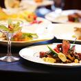 鉄神dinning自慢の特別なコース料理●2500円~6000円(税別)まで◆ 別途+1500円(税別)で二時間飲み放題がつけれます。ご予算、ご希望、苦手なものなど御座いましたらお気楽に何でもご相談くださいませ。