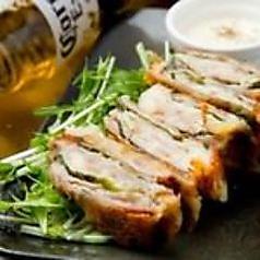 【No.1】豚肉大葉チーズ巻き