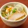 料理メニュー写真〆の鶏だし塩ラーメン