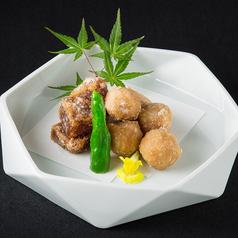炊き上げ大根と里芋の唐揚げ