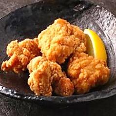 料理メニュー写真若鶏の唐揚